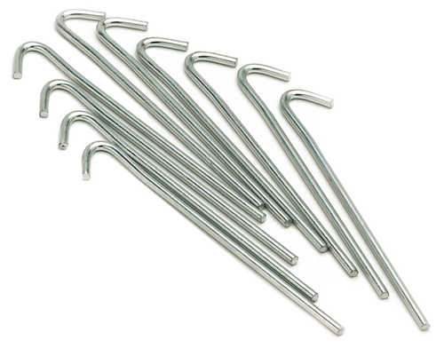 "7"" Wire Tent Pegs (Set of 10)"