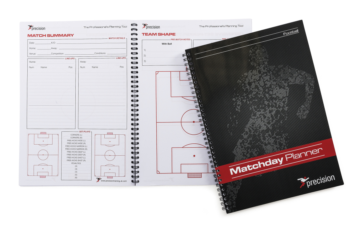 A4 Match Day Planner