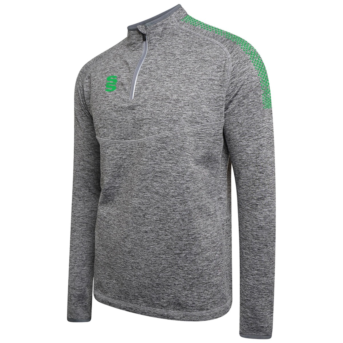 Dual Quarter Zip Top