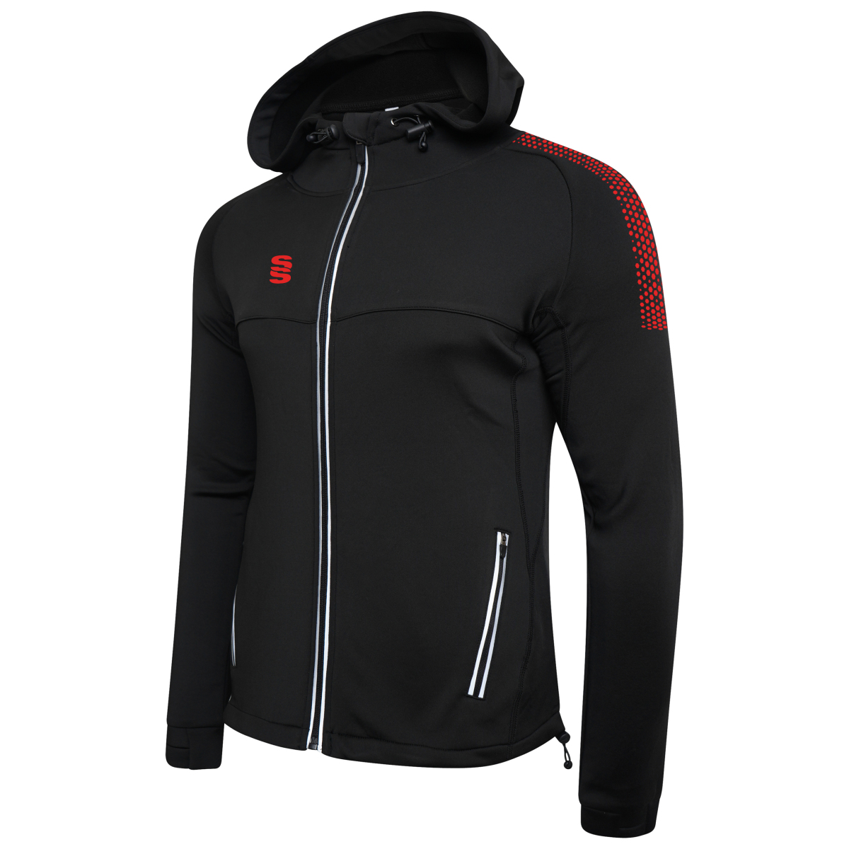 Dual Zipped Hoody