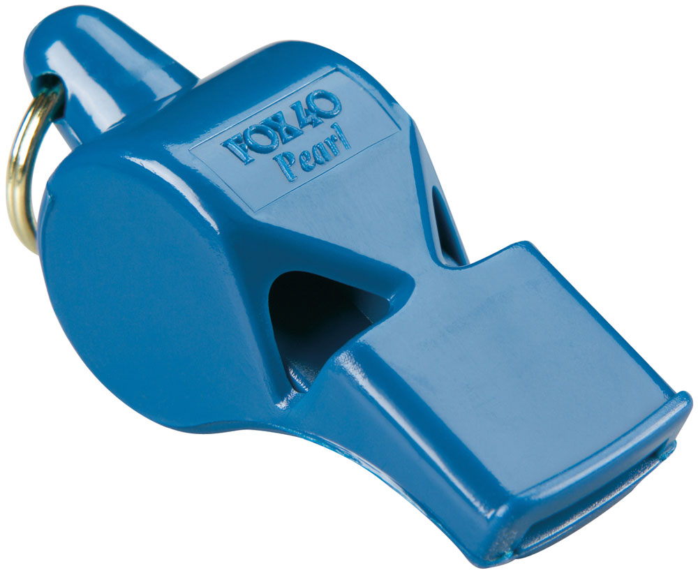 Fox 40 Pearl Safety Whistle and Strap